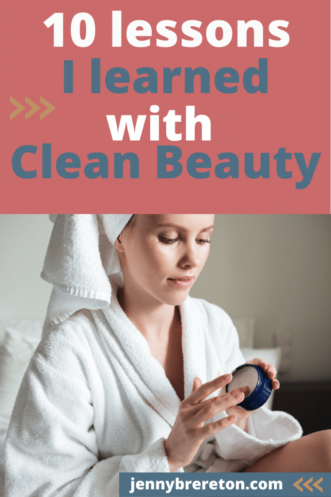 clean beauty lessons