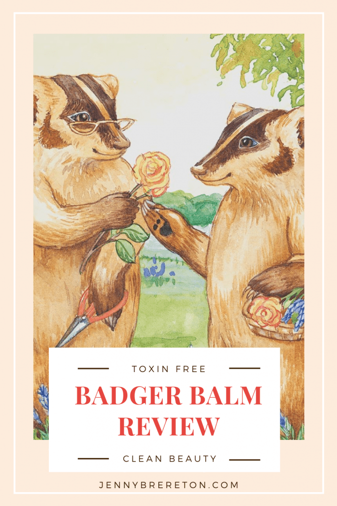 badger balm review